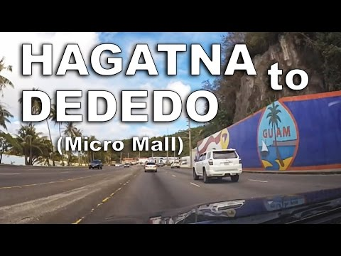 Guam Time-Lapse Short 5.  Hagatna to Dededo (Micronesia Mall)