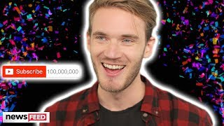 PewDiePie Makes YouTube History With 100 MILLION Subscribers!