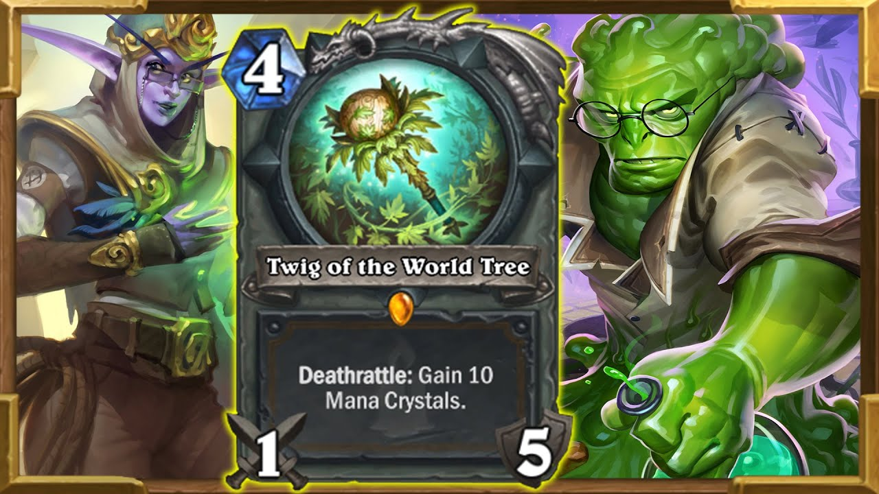 Making My Opponents  Draw 999 Cards in One Turn! Twig & Elise Ultimate Combo In Wild | Hearthstone