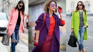 МОДНЫЕ ПАЛЬТО 2017 весна фото тенденции женских пальто Fashion Trends Spring Coats 2017 LOOKBOOK