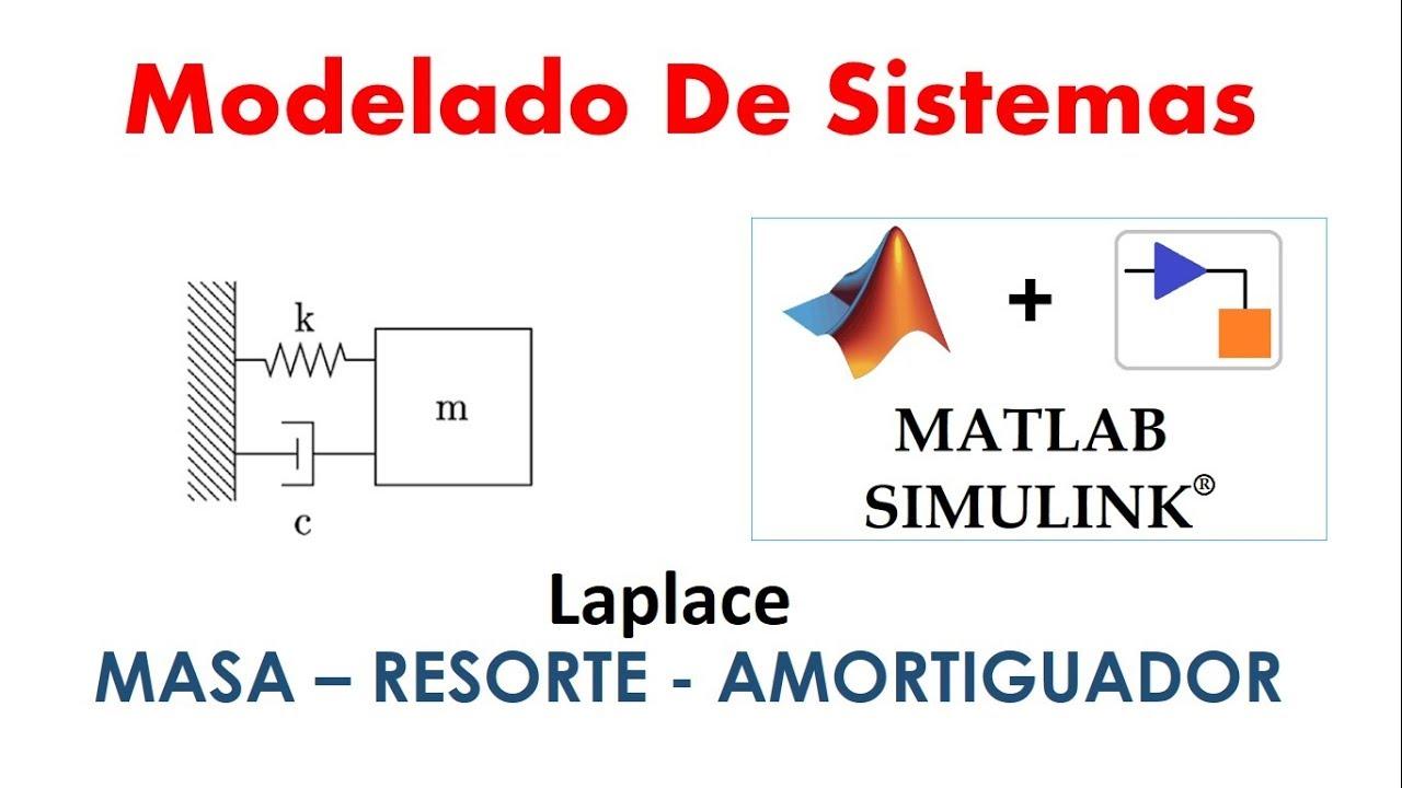 Modelado de Sistema Masa-Resorte-Amortiguador utilizando Laplace + Matlab  Simulink