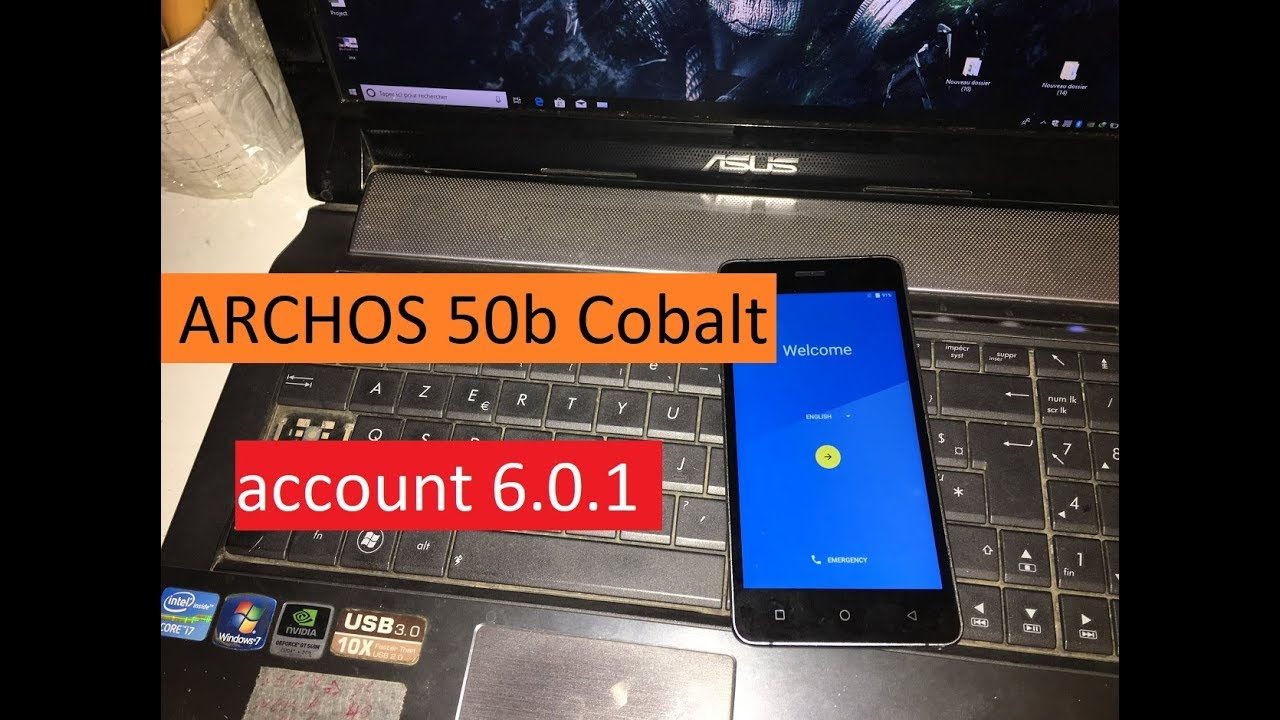 Bypass Google Account ARCHOS 50b Cobalt, Smartphones Remove FRP Android 6 0  Marshmallow