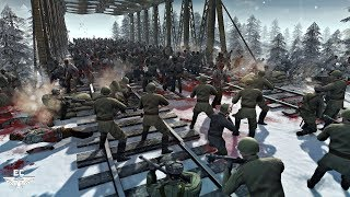 ЗОМБИ АПОКАЛИПСИС 1942 - ( Эпизод 2 ) -  На Границе  СССР  [2k Video]