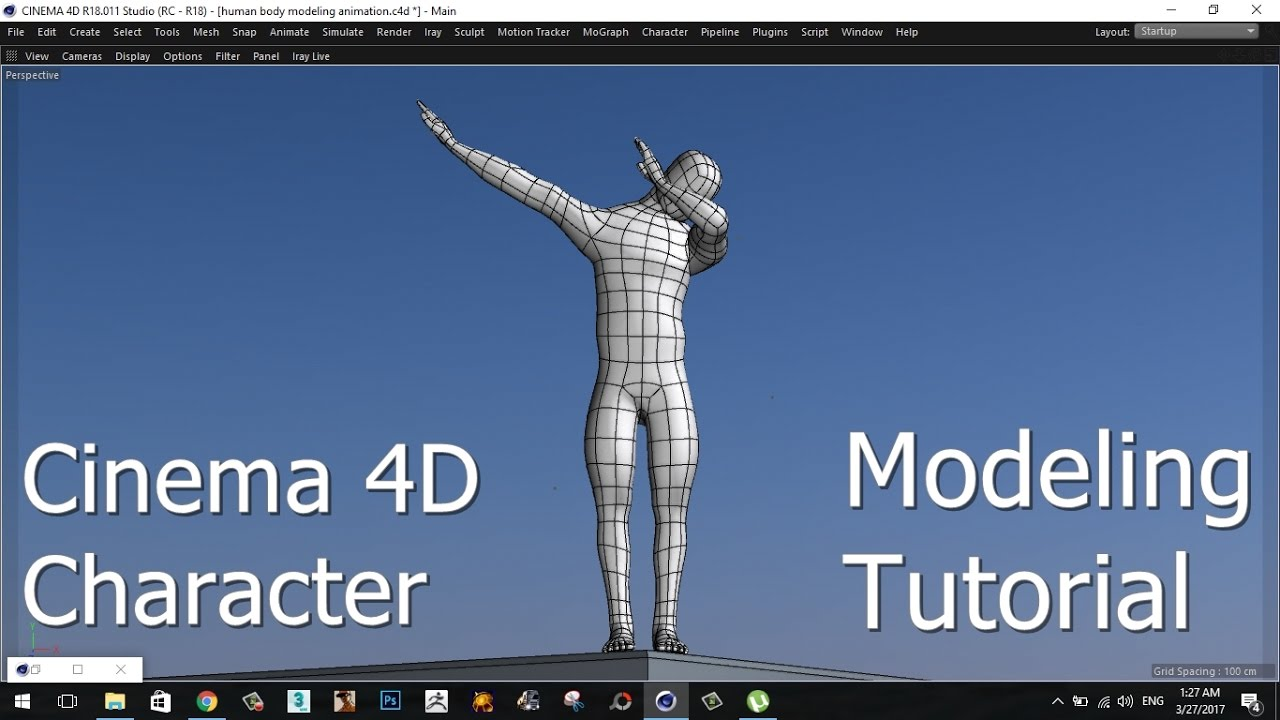 CINEMA 4D | CHARACTER | MODELING | TUTORIAL