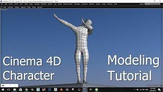 �������� ���� CINEMA 4D   CHARACTER   MODELING   TUTORIAL ������