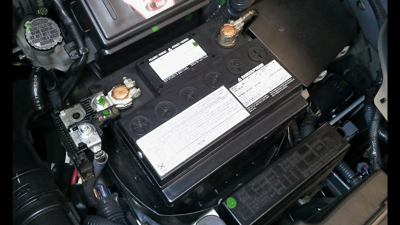 Atencao Com A Sua Bateria Nissan Tiida