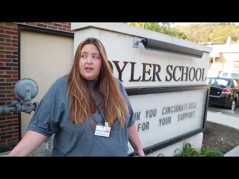 Cincinnati Bell's Community Day 2015 - Oyler School