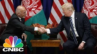 President Donald Trump Meets With Afghan President Ashraf Ghani | CNBC