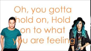 Up - Olly Murs ft. Demi Lovato - Lyrics thumbnail