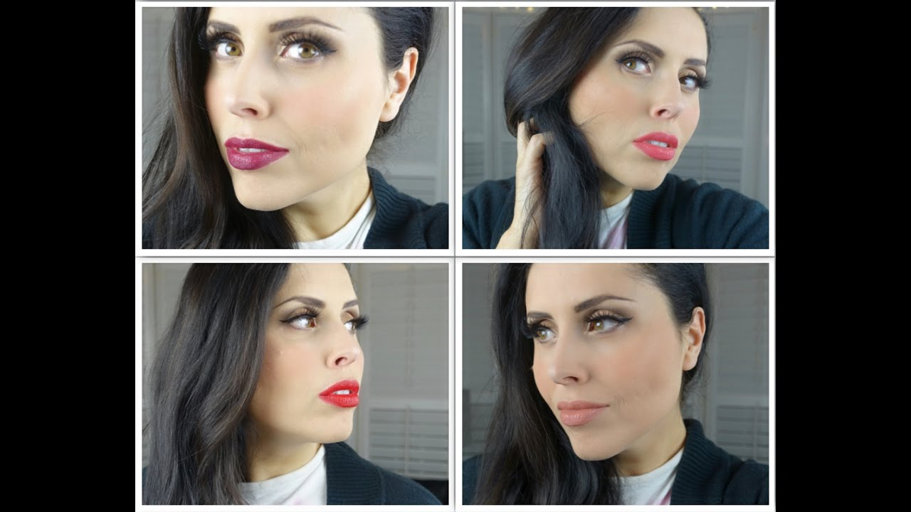 a35a20afe21 4 Makeup look con i rossetti Milano Red Long Lasting - MakeupDelight -  YouTube