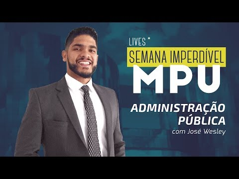 Semana Imperdível MPU - Administração Pública