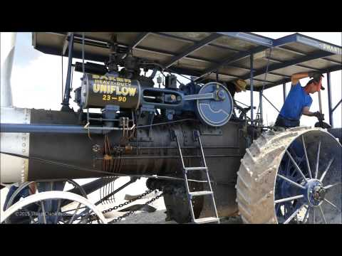 Prony Brake Measuring Steam Engine Horsepower - Mt Hope Show