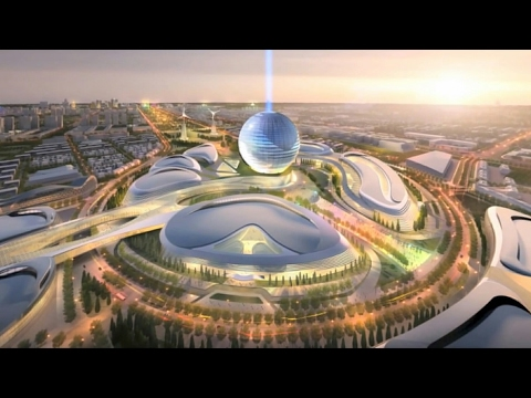 Tour of Astana EXPO 2017 in Astana, Kazakhstan