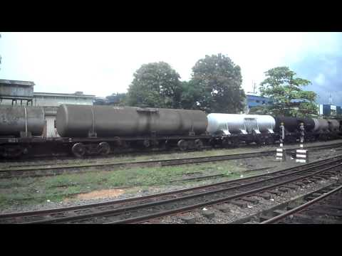 Sri Lanka Railway Freight Train