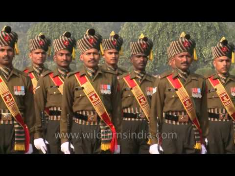 Presidents Body Guard - senior most Regiment of the Indian Army at Rashtrapati Bhavan