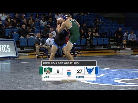 UB Wrestling vs Ohio Post Game Recap