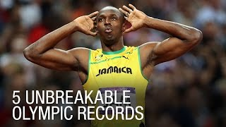 5 Unbreakable Olympic Records