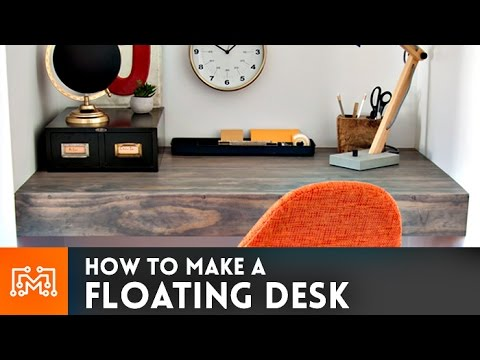 Floating Desk How To
