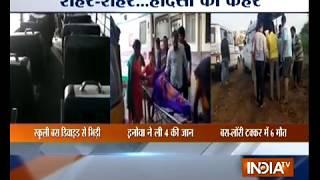 12 students injured in Noida school bus accident