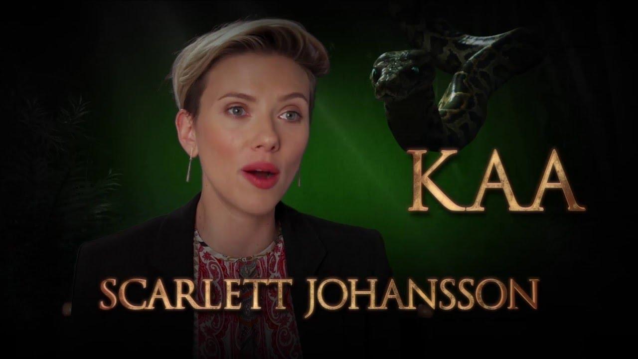 Scarlett Johansson Is Kaa Disney S The Jungle Book