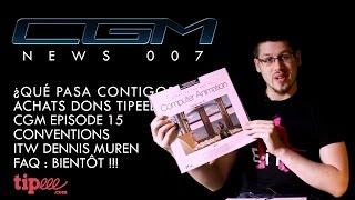 CGM - News 007 (LaserDiscs, Episode 15, Conventions, FAQ…)