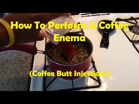 How To Do A Coffee Enema Today
