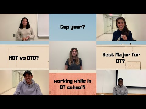 OT STUDENTS ANSWER YOUR QUESTIONS   OT school Q&A