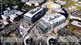 Parrot Bebop 2 Around Construction (With Metrics) September 18th 2018