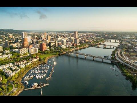 BRIDGETOWN - Portland, Oregon - Bridges from a Drone