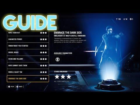 Star Wars BattleFront 2 How To Beat Tier 3 DarkSide last Level!