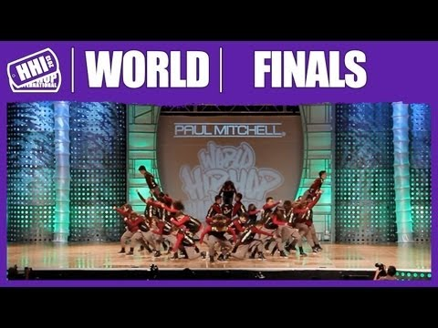 UP StreetDance Club - Philippines (Bronze Medalist/MegaCrew) @ HHI's 2013 World Hip Hop Championship