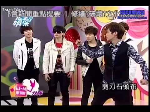 [Vietsub] Total Entertainment (Showbiz) - Super Junior M ngày 07/03/2013 phần 3