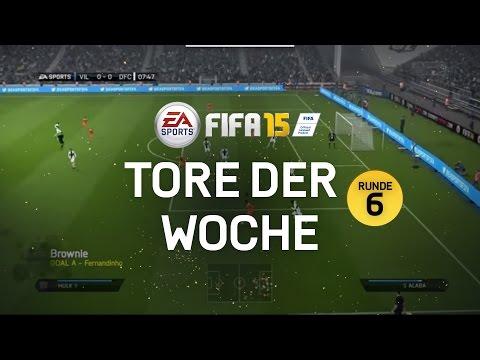 FIFA 15 Tore der Woche - Runde 6