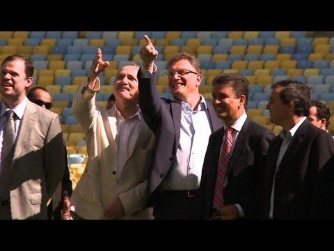 FIFA's bumpy road to Brazil