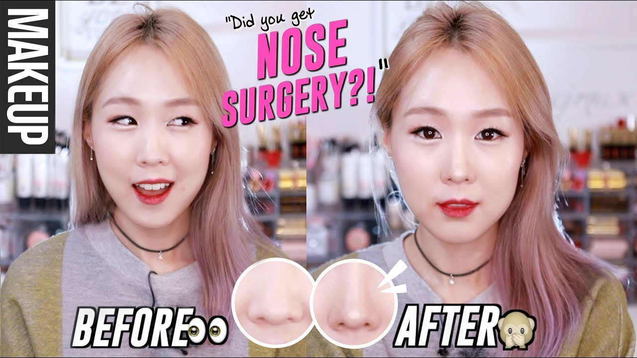 Korean Plastic Surgery Makeup Nose Contour Amp Highlight
