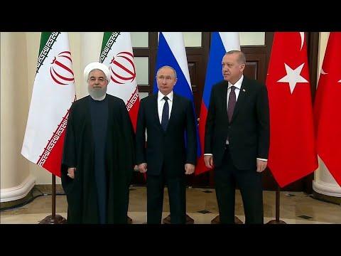 قمة تجمع المتناقضات بين تركيا وروسيا وإيران حول سوريا  - نشر قبل 2 ساعة