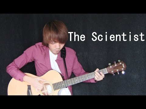 The Scientist - Coldplay (fingerstyle guitar cover) + Free T