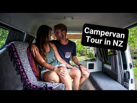 Campervan Rental In New Zealand | VAN TOUR
