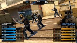 Vici vs 2EZ - [Game 2] Overpass - ESL Pro League Season 8 Asia