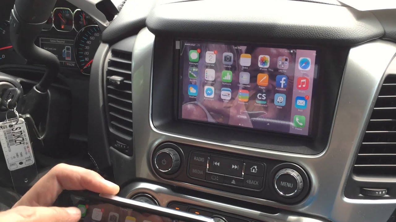2015 Chevrolet Tahoe navigation interface / Add on ...