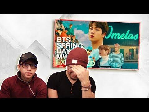 GUYS REACT TO BTS 'Spring Day MV EXPLAINED | Sewol Ferry, Snowpiercer & Survivors'