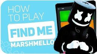 Super pads ☝️find me ☝️ for Marshmello  أسهل اغنية يمكنك تعلمها
