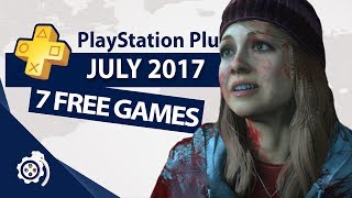 PlayStation Plus (PS+) July 2017
