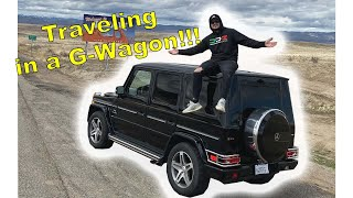 Traveling Across The Country In My G-Wagon!!!