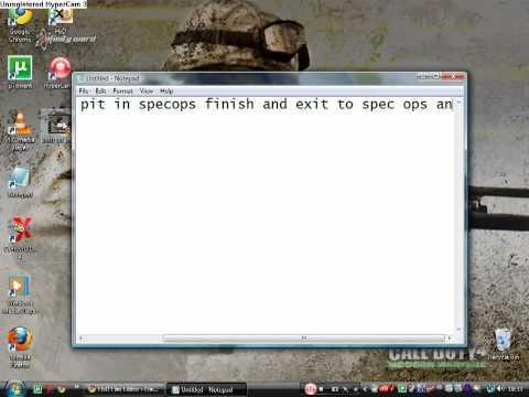 MW2 PS3 Campaign & Spec Ops Trophy Hack