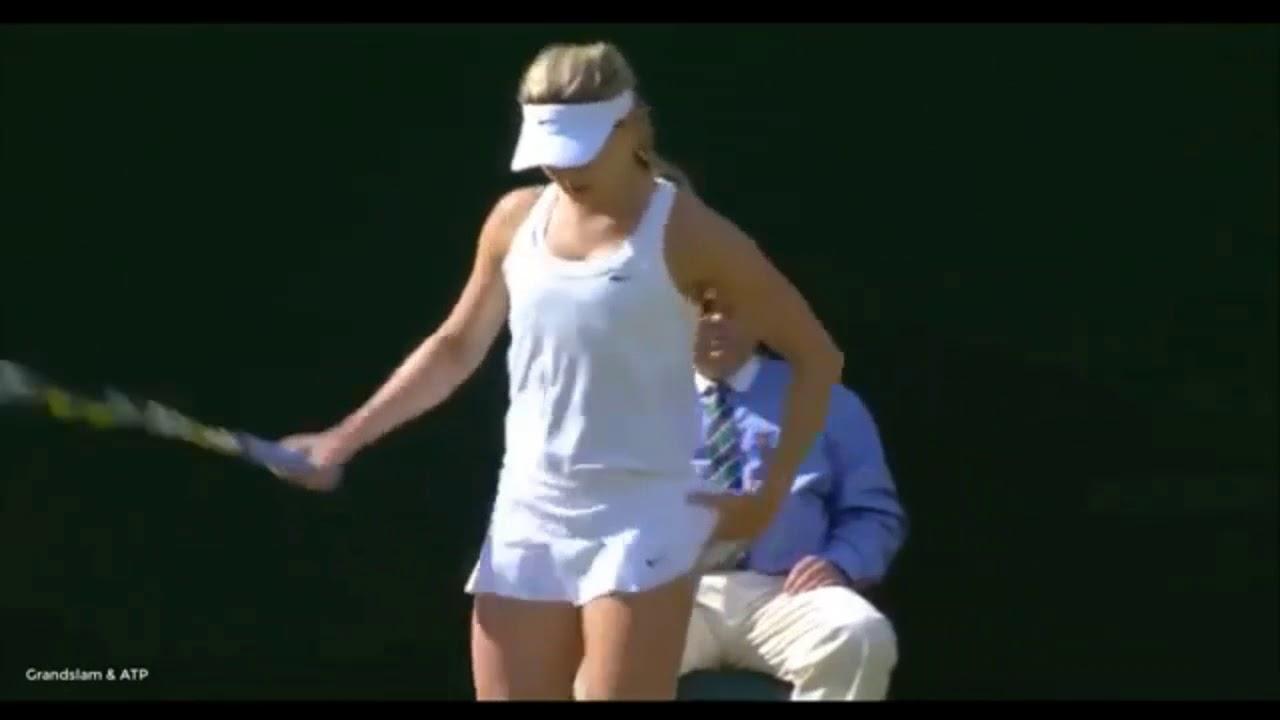 Có một Bouchard cực kỳ gợi cảm ở Wimbledon