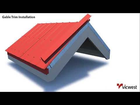 Gable Trim Installation Video