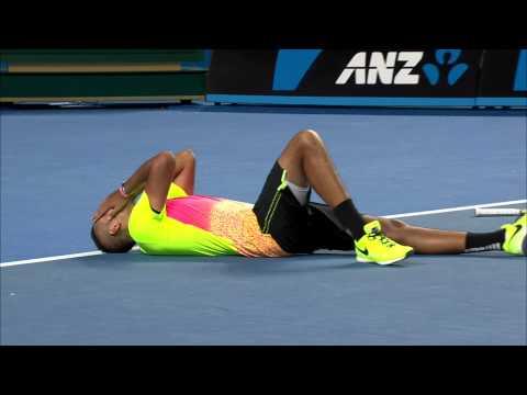 Match point: Nick Kyrgios v Andreas Seppi (4R) - Australian Open 2015