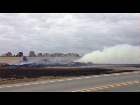 Tobacco Barn Fire On 161