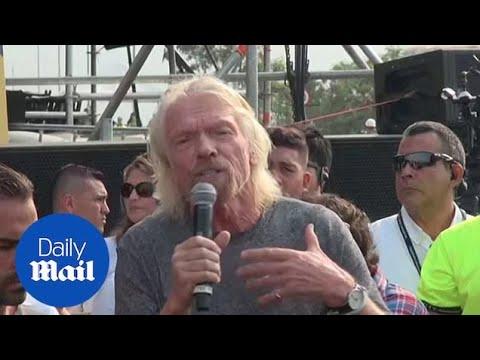 Richard Branson speaks ahead of Venezuelan fundraising concert Mp3